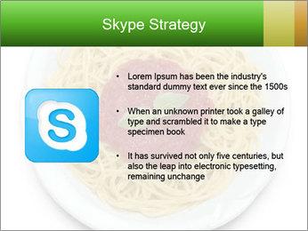 Italian pasta PowerPoint Template - Slide 8