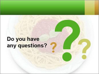 Italian pasta PowerPoint Template - Slide 96