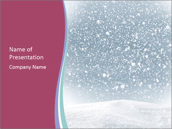 Winter PowerPoint Template - Slide 1