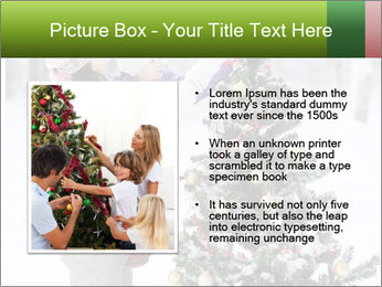 Mother and the daughter decorate PowerPoint Template - Slide 13