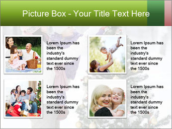 Mother and the daughter decorate PowerPoint Template - Slide 14