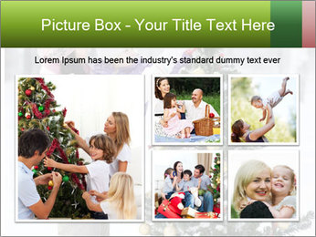 Mother and the daughter decorate PowerPoint Template - Slide 19