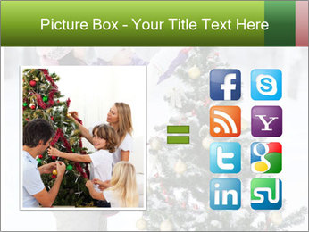 Mother and the daughter decorate PowerPoint Template - Slide 21