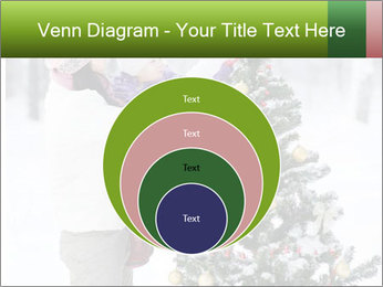 Mother and the daughter decorate PowerPoint Template - Slide 34