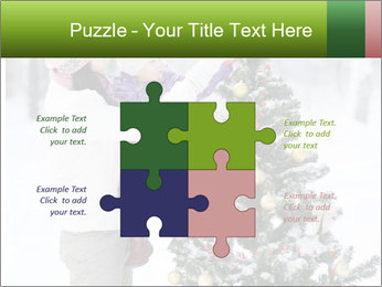 Mother and the daughter decorate PowerPoint Templates - Slide 43