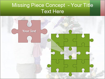 Mother and the daughter decorate PowerPoint Templates - Slide 45