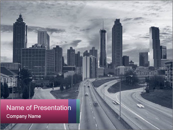 Atlanta PowerPoint Template - Slide 1