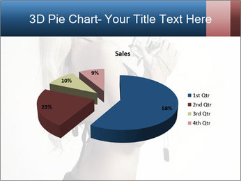 Beautiful slim sexy blond PowerPoint Template - Slide 35