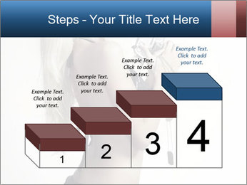 Beautiful slim sexy blond PowerPoint Template - Slide 64
