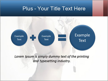 Beautiful slim sexy blond PowerPoint Template - Slide 75