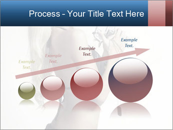 Beautiful slim sexy blond PowerPoint Template - Slide 87