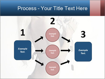 Beautiful slim sexy blond PowerPoint Template - Slide 92
