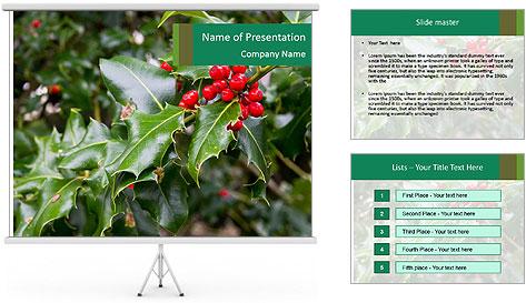 Berries PowerPoint Template