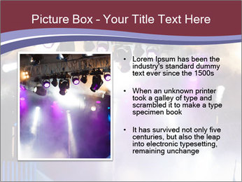Many spotlights PowerPoint Template - Slide 13