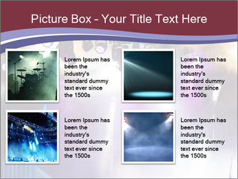 Many spotlights PowerPoint Template - Slide 14