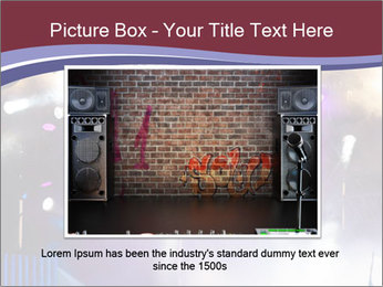Many spotlights PowerPoint Template - Slide 15