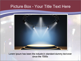 Many spotlights PowerPoint Template - Slide 16
