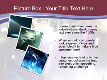 Many spotlights PowerPoint Template - Slide 17