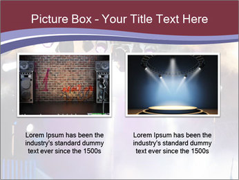 Many spotlights PowerPoint Template - Slide 18