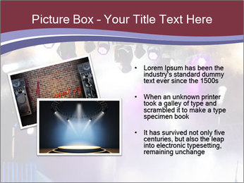Many spotlights PowerPoint Template - Slide 20