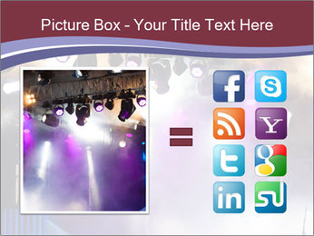 Many spotlights PowerPoint Template - Slide 21