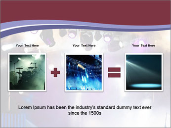 Many spotlights PowerPoint Template - Slide 22