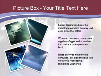Many spotlights PowerPoint Template - Slide 23