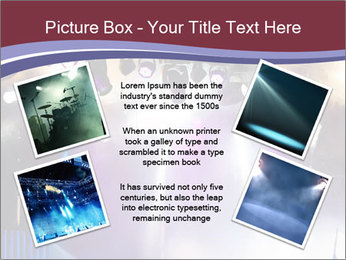 Many spotlights PowerPoint Template - Slide 24