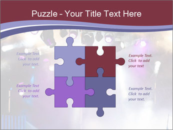 Many spotlights PowerPoint Template - Slide 43