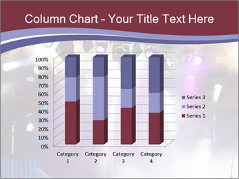 Many spotlights PowerPoint Template - Slide 50