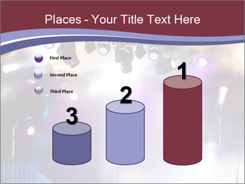 Many spotlights PowerPoint Template - Slide 65