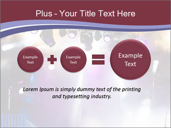 Many spotlights PowerPoint Template - Slide 75