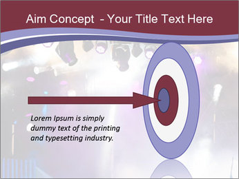 Many spotlights PowerPoint Template - Slide 83