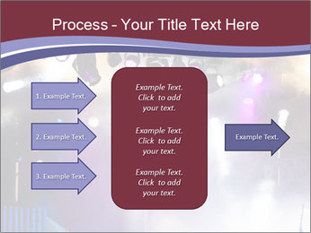 Many spotlights PowerPoint Template - Slide 85