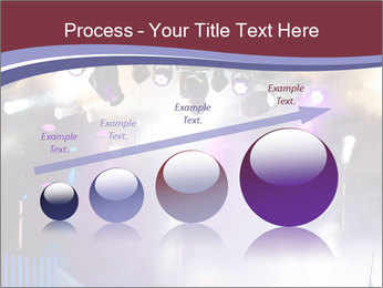 Many spotlights PowerPoint Template - Slide 87