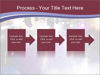 Many spotlights PowerPoint Template - Slide 88