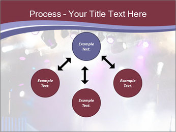 Many spotlights PowerPoint Template - Slide 91