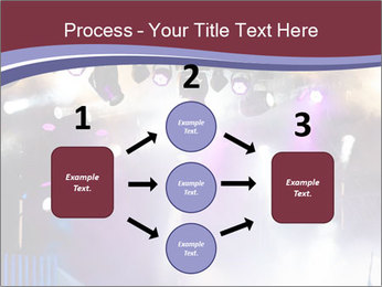 Many spotlights PowerPoint Template - Slide 92