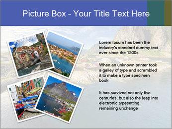 Scenic fjord on Lofoten islands PowerPoint Template - Slide 23
