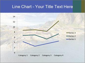 Scenic fjord on Lofoten islands PowerPoint Template - Slide 54
