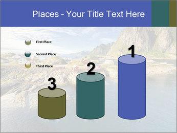 Scenic fjord on Lofoten islands PowerPoint Template - Slide 65