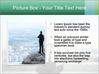 Man thinking PowerPoint Template - Slide 13
