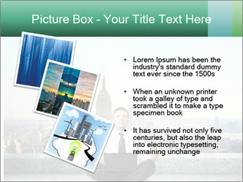 Man thinking PowerPoint Template - Slide 17