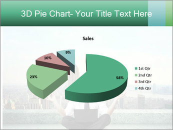 Man thinking PowerPoint Template - Slide 35