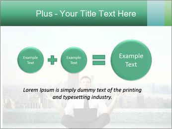 Man thinking PowerPoint Templates - Slide 75
