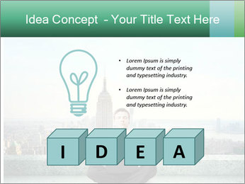 Man thinking PowerPoint Templates - Slide 80