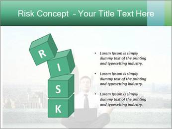 Man thinking PowerPoint Templates - Slide 81
