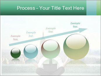 Man thinking PowerPoint Template - Slide 87