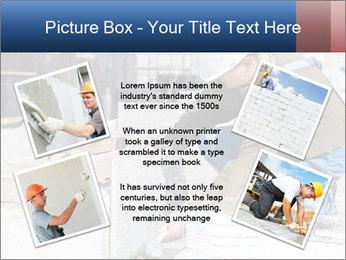 Tiler in helmet PowerPoint Templates - Slide 24