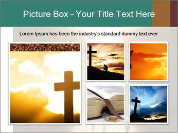 People walking PowerPoint Template - Slide 19